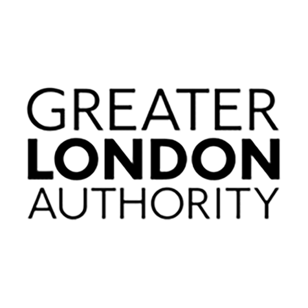 Logo for Greater London Authority.