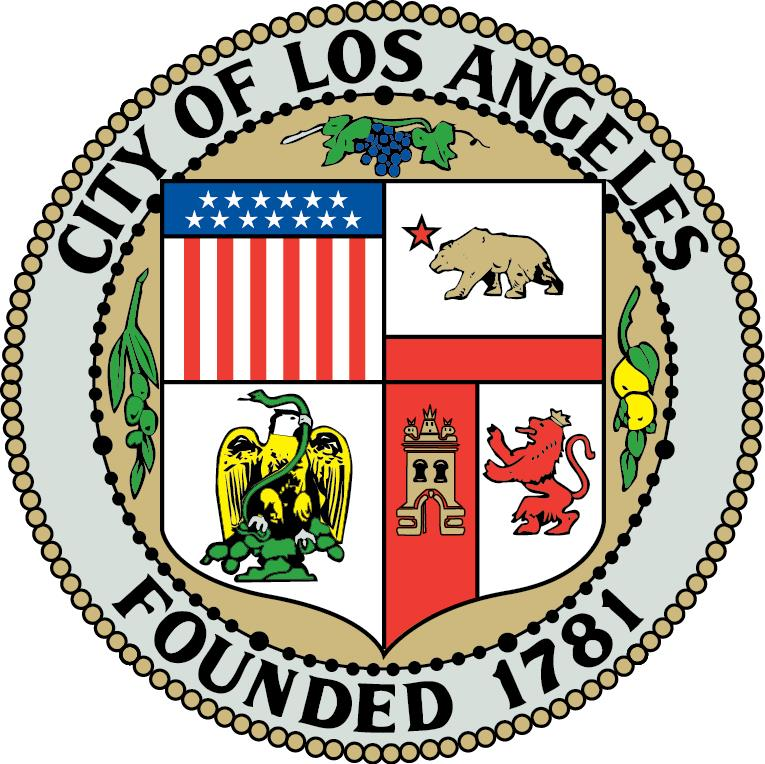 Logo for City of Los Angeles, CA.