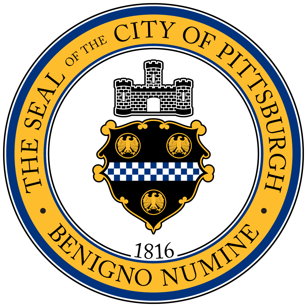 Logo for City of Pittsburgh, PA.